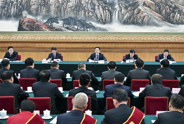 韩正出席三北工程建设40周年总结表彰大会并讲话