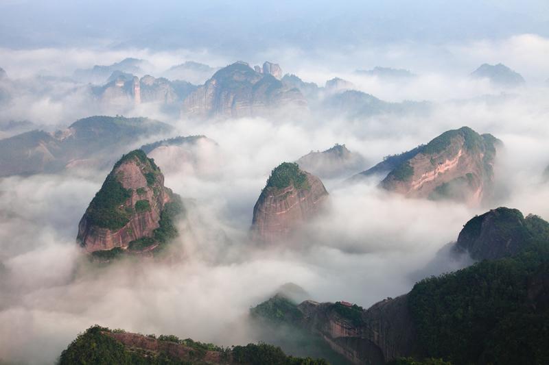 广西八角寨国家森林公园