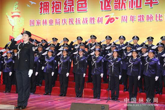 公安局(防火办,预警中心):大合唱 表演唱《当那一天来临》