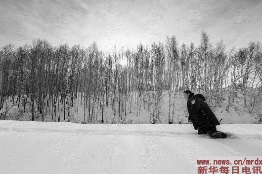 林海雪原中一个人的除夕